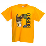 CAMISETA BURRO - Camiseta Valueweight Niño Fruit Of The Loom