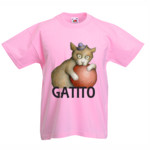 GATITO NIÑA - Camiseta Valueweight Niño Fruit Of The Loom